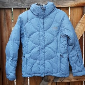 The north face 600 fill down puffer winter coat